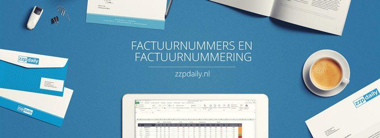 factuurnummering factuurnummers