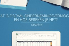 fiscaal ondernemingsvermogen