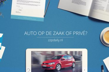 auto op de zaak of privé