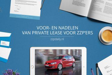 voordelen private lease zzp