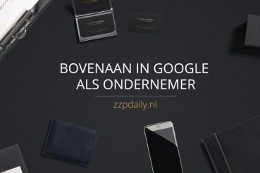 bovenaan in google