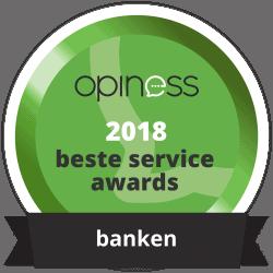 beste service award banken