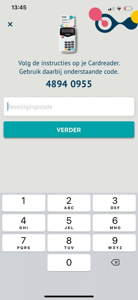 app registratie