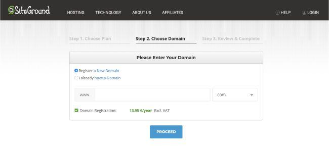 blog maken domeinnaam registreren