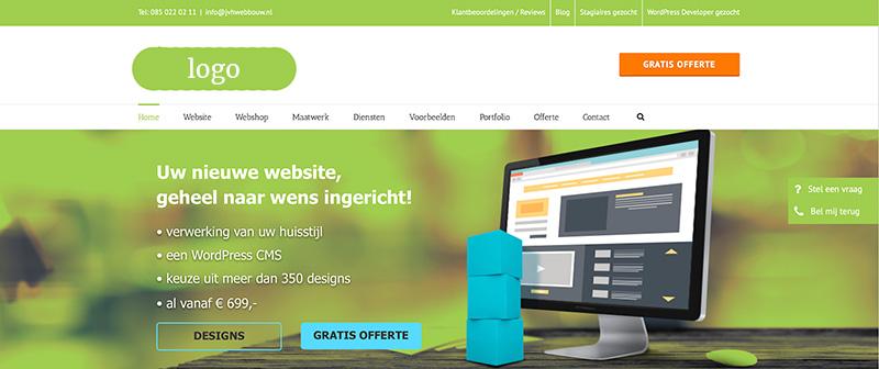 website bouwen